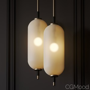 Pierce Pendant By Coil And Drift
