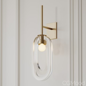 Cirrus Wall Sconce By Coil And Drift