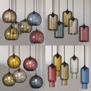 Solitaire Pendant Lamps By Jeremy Pyles For Niche