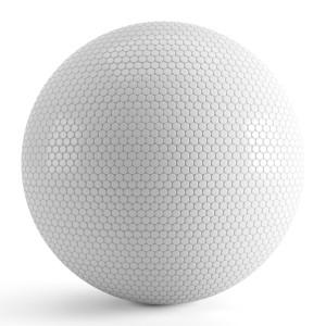 White Round Tiles