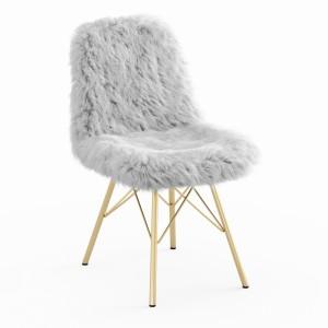 Fur White Chair