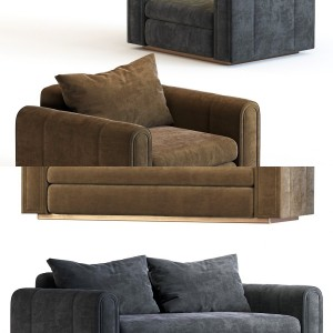 Sofa and  Armchair– Ludovica Mascheroni
