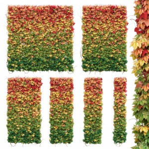 Wall Of Autumn Leaves. Set Of 6 Models