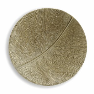 Simonallen Sculptor Leaf Curcle Gold