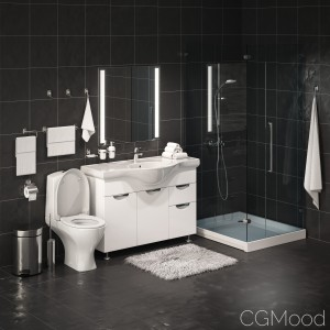 Set Accessories For Bathroom
