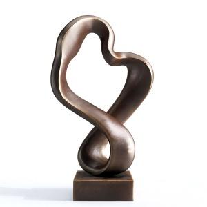 Modern Decorative Abstract Bronz Art Sculpture #10