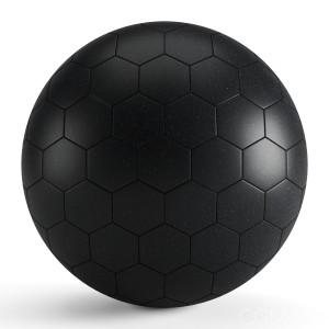 Black Matte Hexagon Tiles