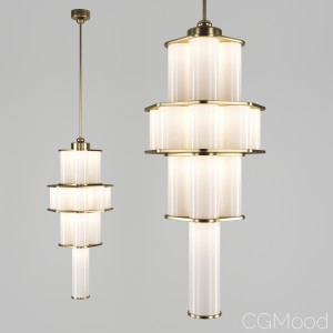 Bauer Chandelier 02 By Roll & Hill
