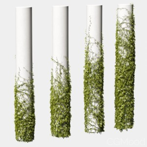 Leaves For Round Columns. 4 Models