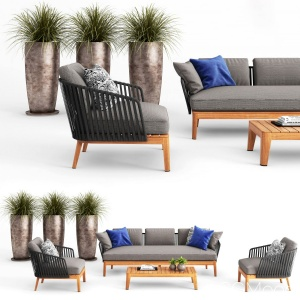 Tribu Mood Sofa And Club Chair