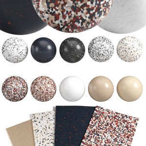 10-in-1 Terrazzo Linoleum Material Pack 1