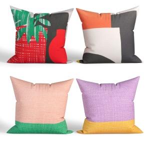 Decorative Pillows Habitat. Set 031