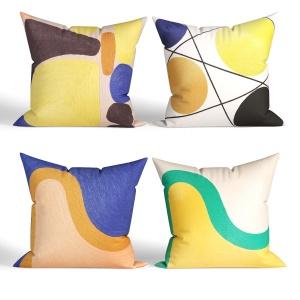 Decorative Pillows Habitat. Set 032