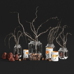 Rustic Vase Set