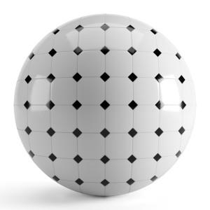 Black White Tiles 002