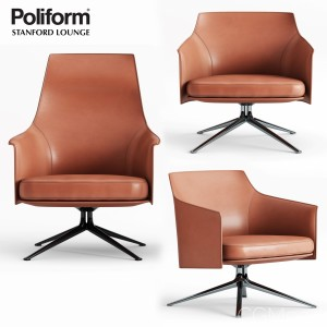 Poliform Stanford Armchair And Lounge