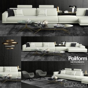 Poliform Mondrian Sofa 2