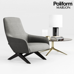Poliform Marlon Armchair Set