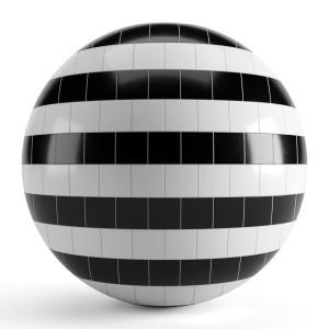 Black White Tiles 003