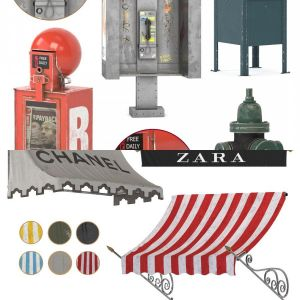 street equipment & awning collection