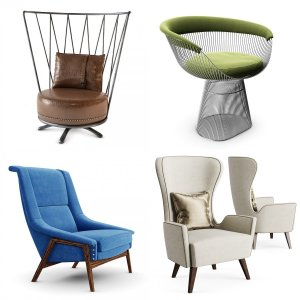 Armchairs collection