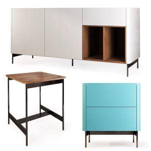 Bedside Table, Sideboard Iris By Furman