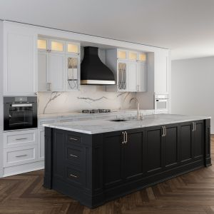 Kitchen Neo Classic With Island