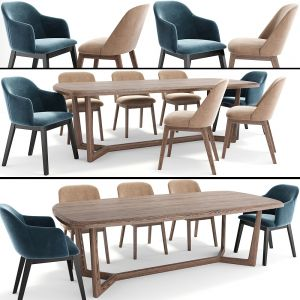 Concorde Dining Table Chair