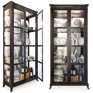Cabinet,  Showcase By Quinn Hickory White