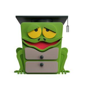 Frog Bedside Table