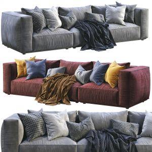 Marechiaro Sofa  By Arflex ( 2 Color Version)