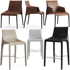 Poliform Seattle Dining Chair And Bar Stool