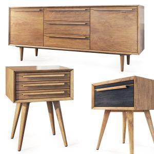 Tvstand, Nightstand Bruni By Etg-home