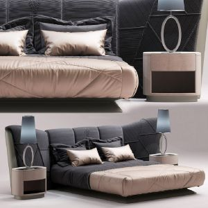 Visionnaire Plaza Bed