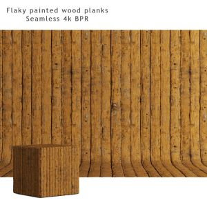 Wood Material | Painted Boards 02