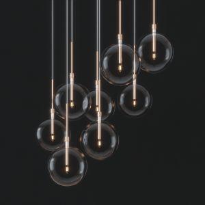 8 Glass Pendant Lights