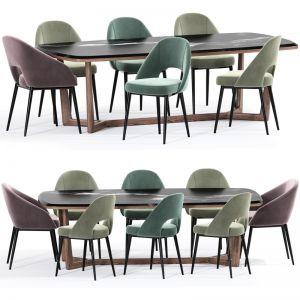 Carson Carrington Cullaville Dining Chair Table