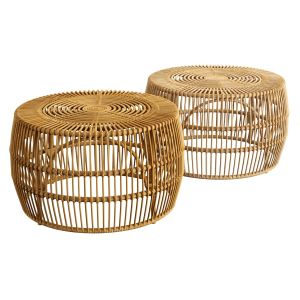 Pyronia Rattan Cage Coffee Table Natural