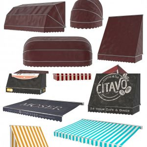 Awning collection