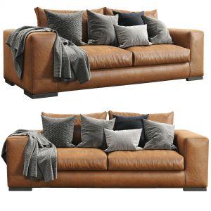 Sofa Leather Espace By Ferlea