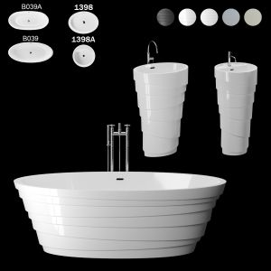 Bathtubs And Free-standing Washbasins KKR