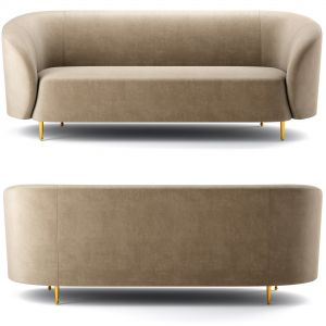 Lavilla Velvet Sofa