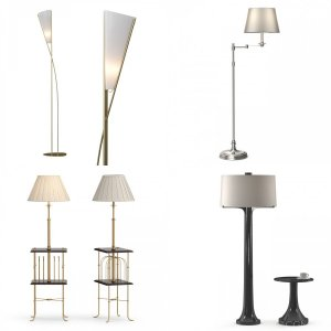 Floor lamps collection