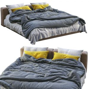 Cappellini Superoblong Bed