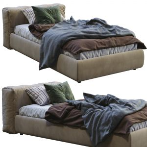 Cappellini Single Bed Superoblong