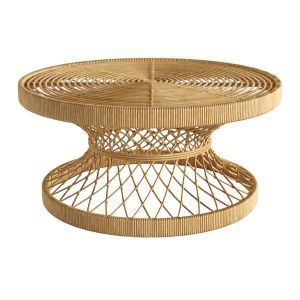 Coffee Table Rattan Natural