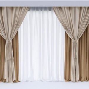 Curtain room
