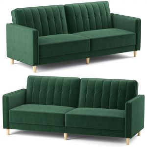 Dhp Pin Tufted Transitional Futon