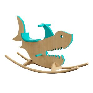 Shark Rocking Horse