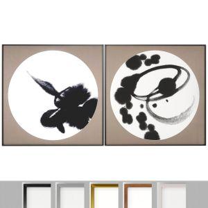 Art Frams 89- 2 Art Frames Collection Kanji